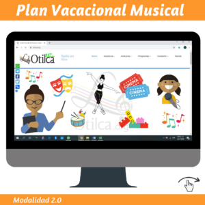 Plan Vacacional Musical 2020